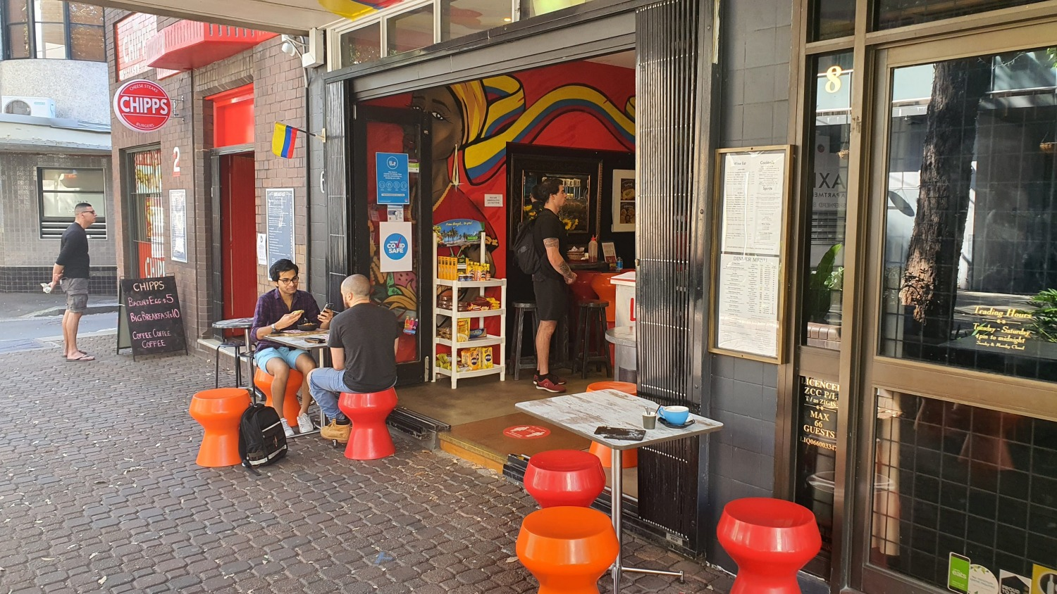 La Herradura Coffee Stable Chippendale (1) Cafes Bars Sydney Art Out Live