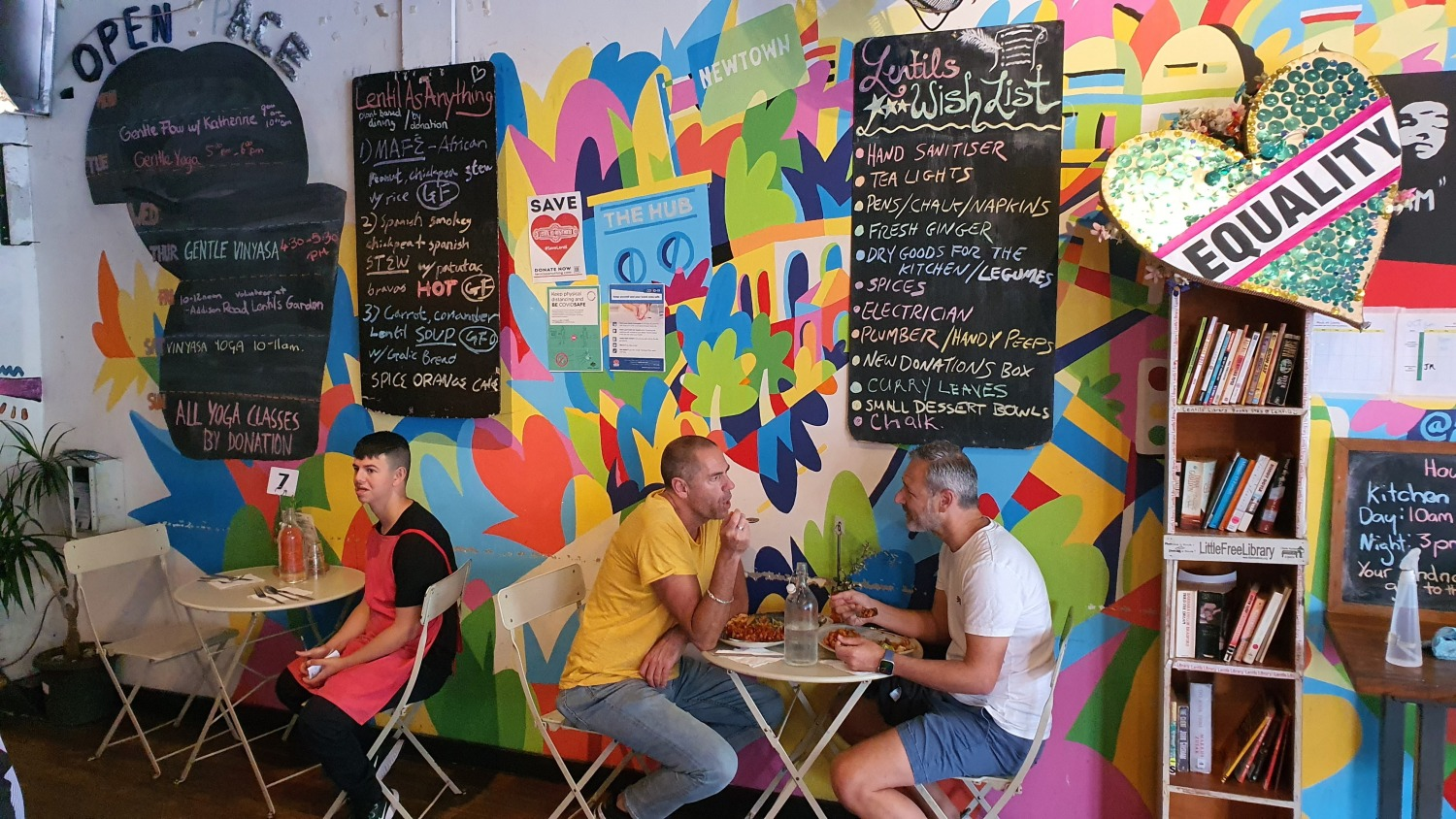 Lentil As Anything Newtown Cafes Bars Sydney Art Out Live (9)