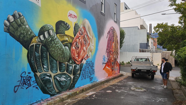 Maria Lane Newtown Street Art Sydney Art Out Live (2)
